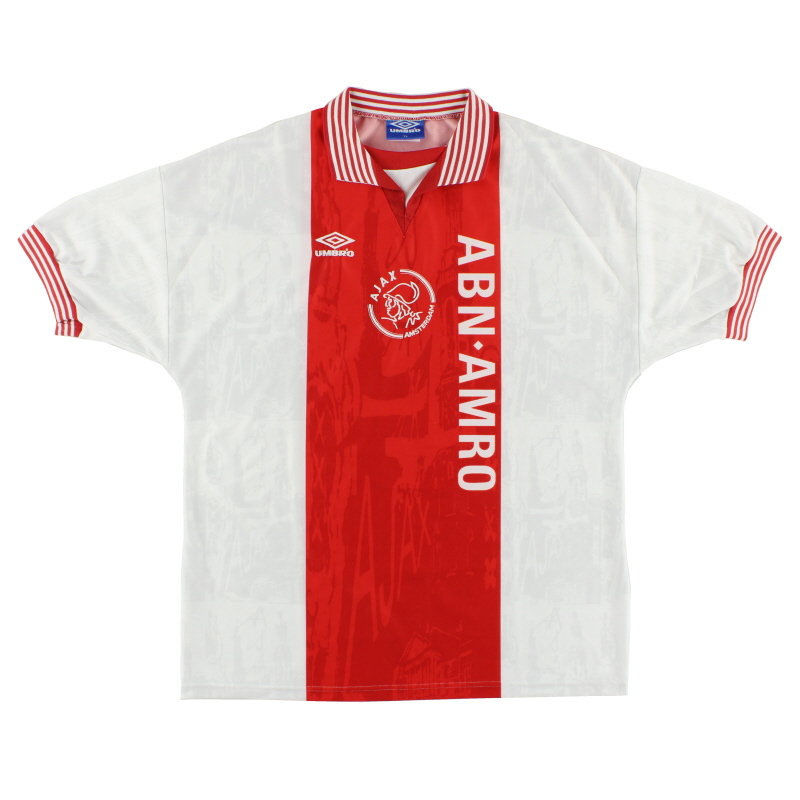 1996-97 Ajax Home Shirt XL