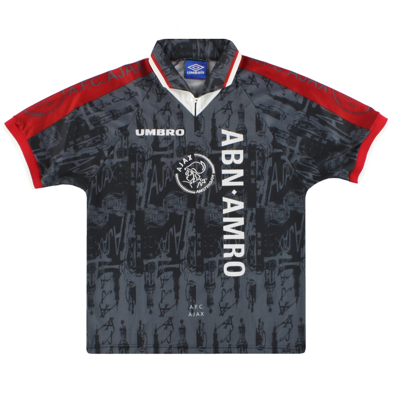 1996-97 Ajax Umbro Away Shirt *Mint* M