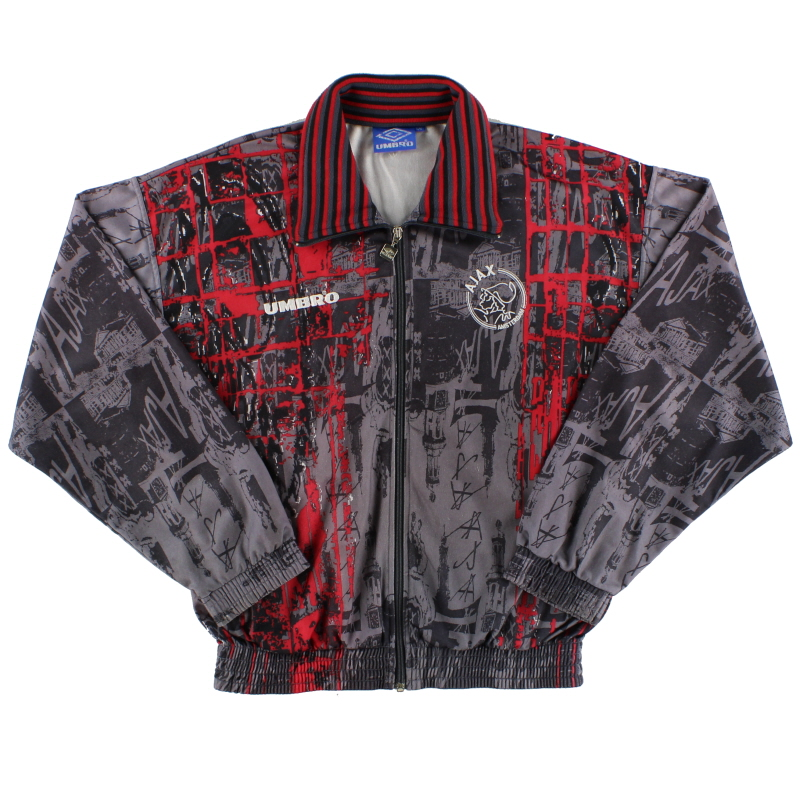 1996-97 Ajax Umbro Track Jacket Y
