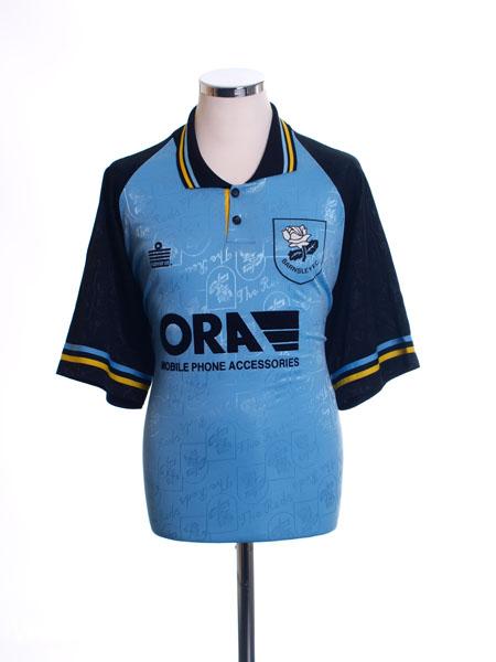 1996-97 Barnsley Away Shirt L