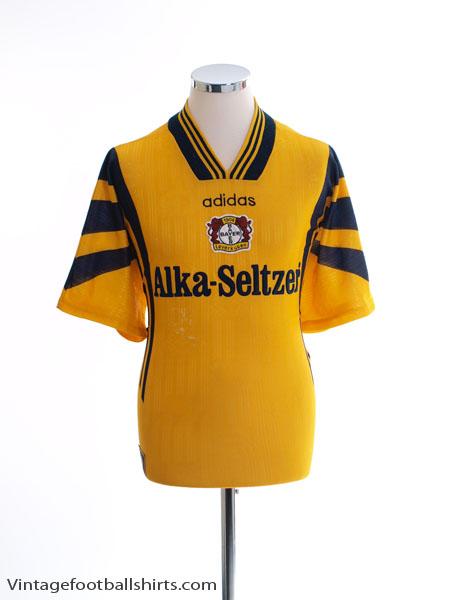 1996-97 Bayer Leverkusen Away Shirt L