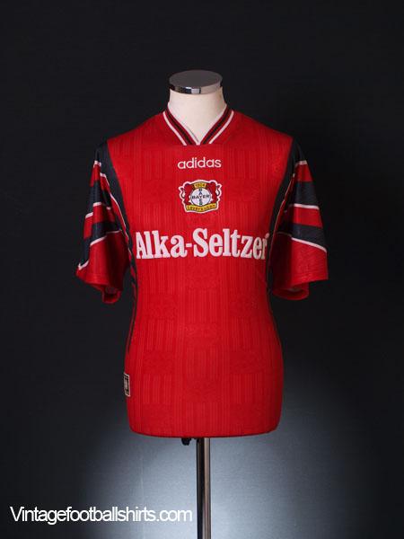 1996-97 Bayer Leverkusen Home Shirt *BNWT* M