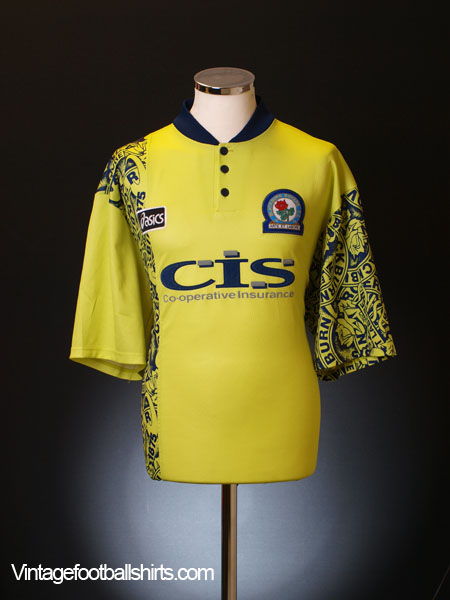 1996-97 Blackburn Away Shirt Y