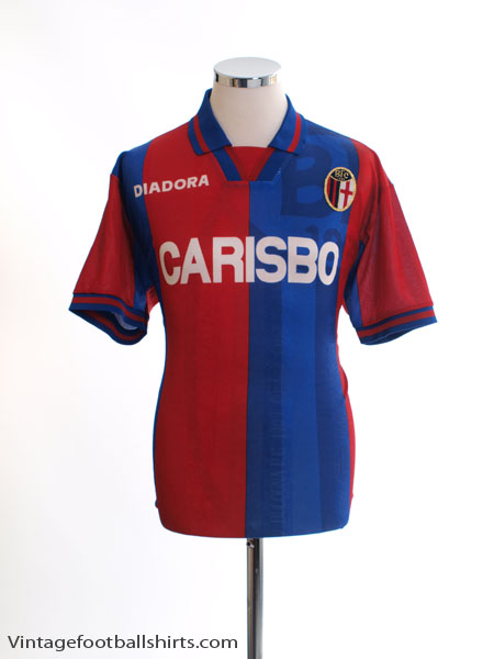 1996-97 Bologna Home Shirt L - 109130