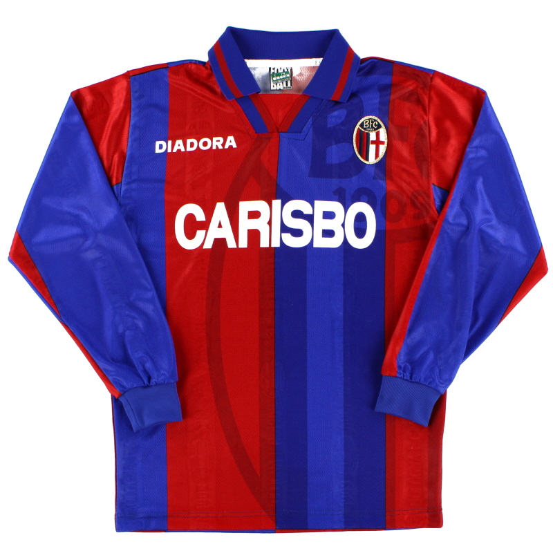 1996-97 Bologna Home Shirt L/S S