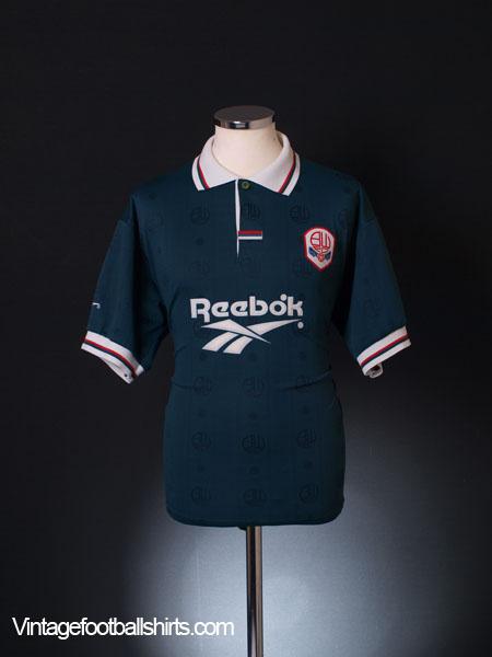 1996-97 Bolton Away Shirt M