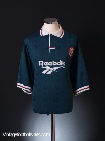 1996-97 Bolton Away Shirt M