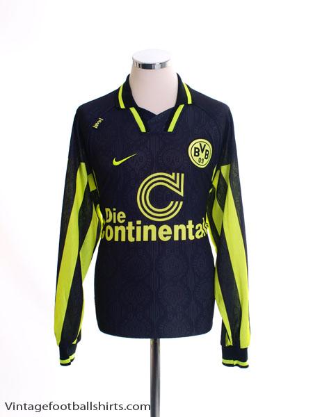 1996-97 Borussia Dortmund Away Shirt L/S L