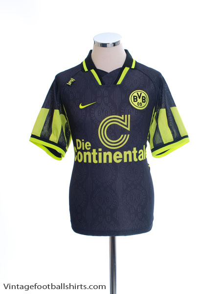 1996-97 Borussia Dortmund Away Shirt L