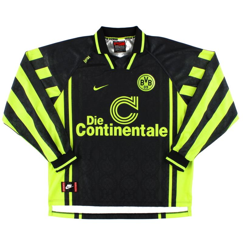 1996-97 Borussia Dortmund Away Shirt L/S XXL