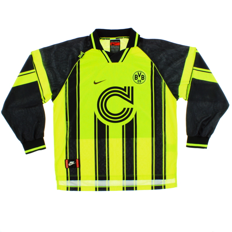 1996-97 Borussia Dortmund CL Home Shirt L/S XL