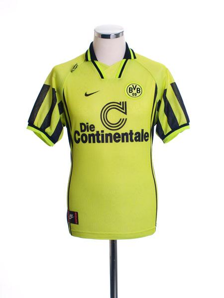1996-97 Borussia Dortmund Home Shirt M