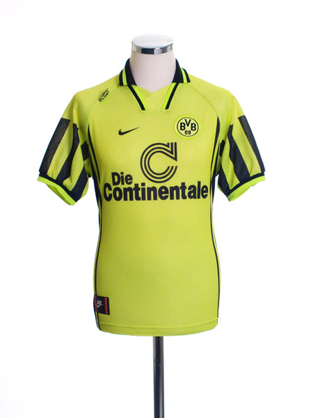 1996-97 Borussia Dortmund Home Shirt M.Boys