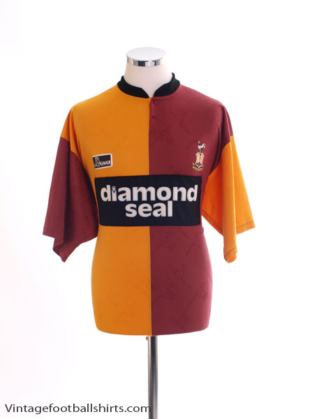 1996-97 Bradford City Cup Home Shirt XL