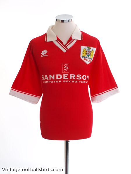 1996-97 Bristol City Centenary Home Shirt L