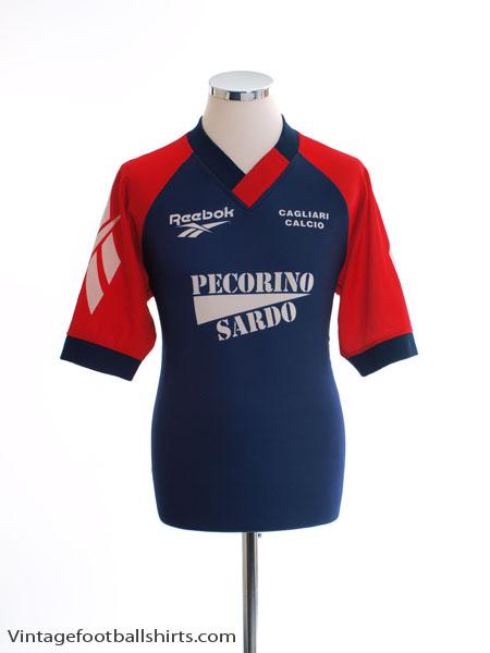 1996 97 Cagliari Reebok Training Shirt L for sale