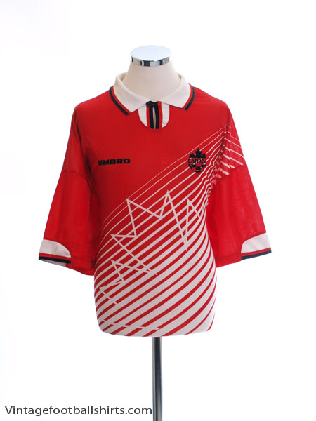 1996-97 Canada Home Shirt *Mint* XL