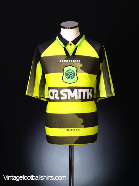 1996-97 Celtic Away Shirt XL