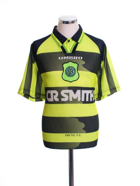 1996-97 Celtic Away Shirt L