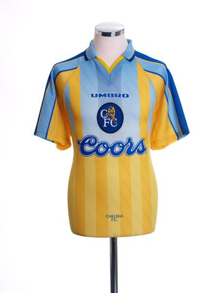 1996-97 Chelsea Away Shirt XXL