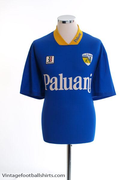 1996-97 Chievo Verona Training Shirt L