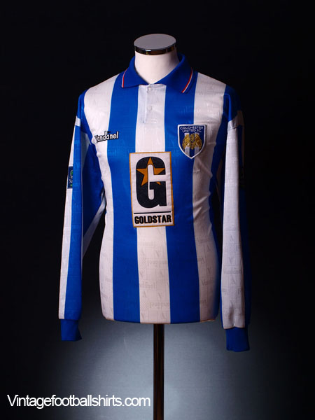 1996-97 Colchester United Match Worn Home Shirt #No8 *Gregory* L/S  XL