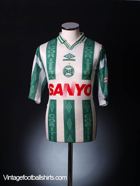 1996-97 Coritiba Away Shirt #10 L