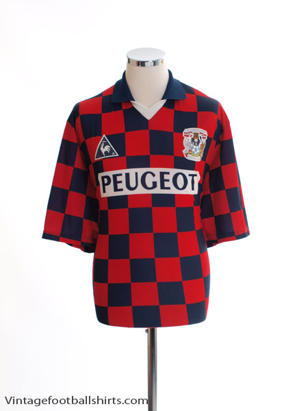 1996-97 Coventry Away Shirt XL