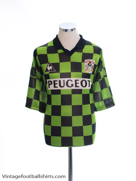 1996-97 Coventry Third Shirt *Mint* XL