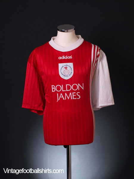 1996-97 Crewe Alexandra Home Shirt XL