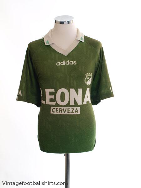 1996-97 Deportivo Cali Home Shirt #10 L
