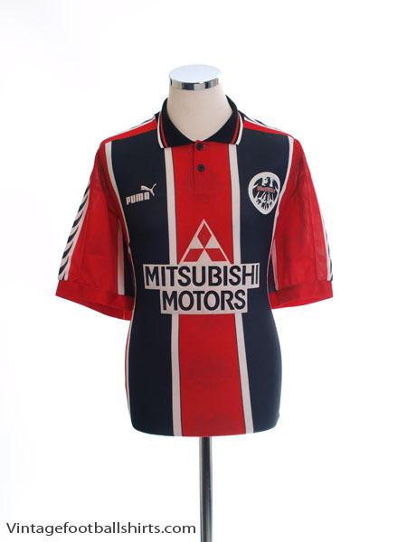 1996-97 Eintracht Frankfurt Home Shirt *Mint* L