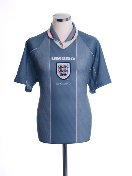 1996-97 England Away Shirt L