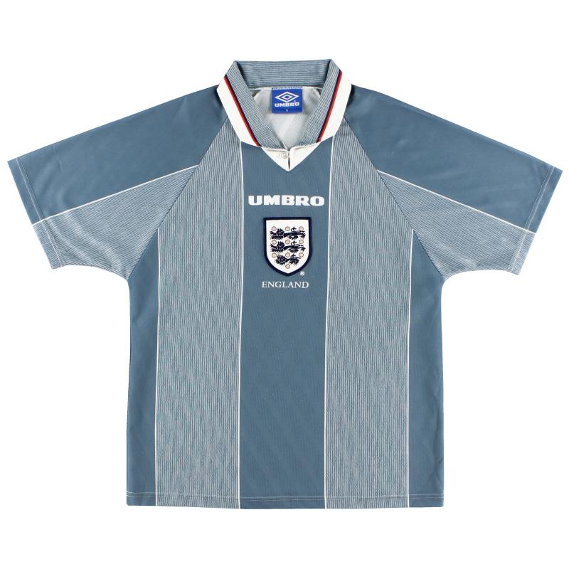 1996-97 England Umbro Away Shirt L.Boys