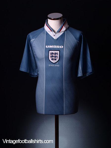 1996-97 England Away Shirt Y