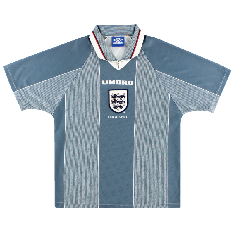 1996-97 England Umbro Away Shirt M
