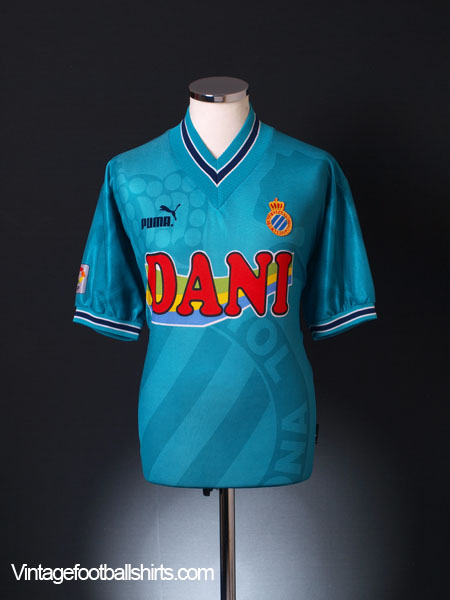 1996-97 Espanyol Away Shirt L