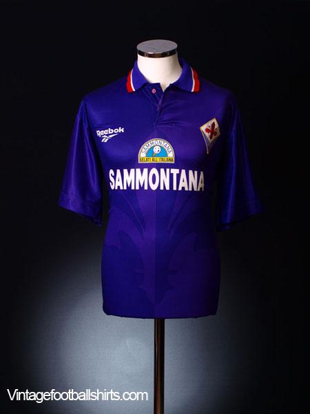 1996-97 Fiorentina Home Shirt XL