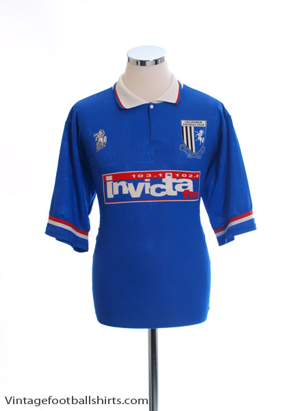 1996-97 Gillingham Home Shirt L