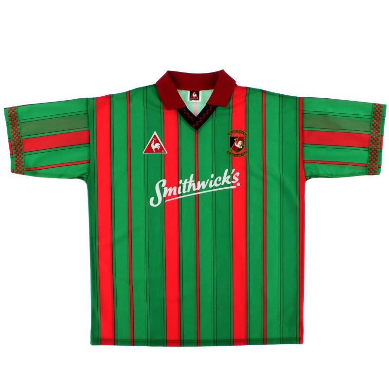 1996-97 Glentoran FC Home Shirt *Mint* XL
