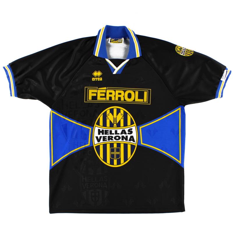 1996-97 Hellas Verona Third Shirt XXL