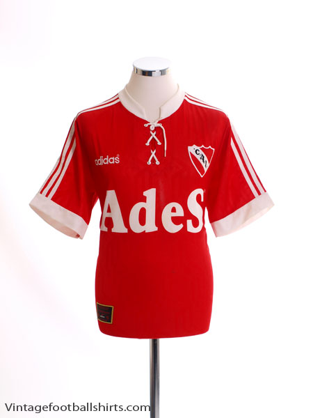 1996-97 Independiente Home Shirt M