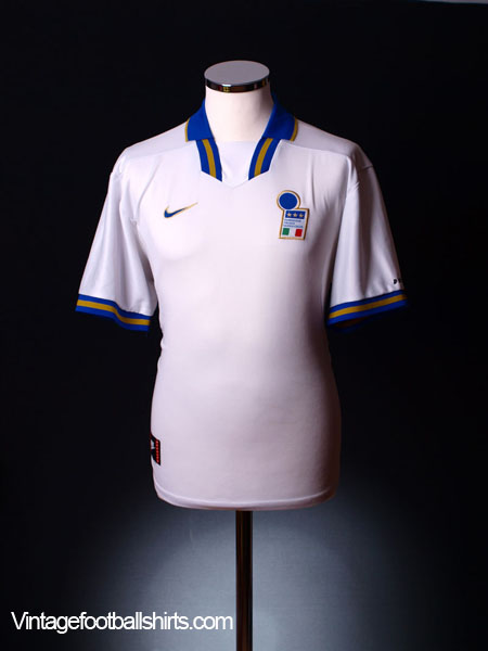 1996-97 Italy Away Shirt XL