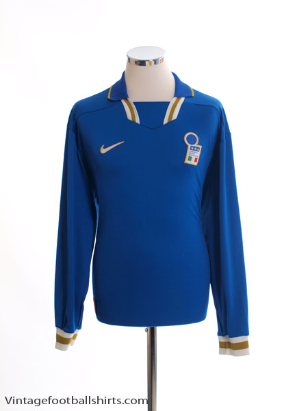1996-97 Italy Home Shirt L/S XL
