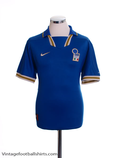 1996-97 Italy Home Shirt L
