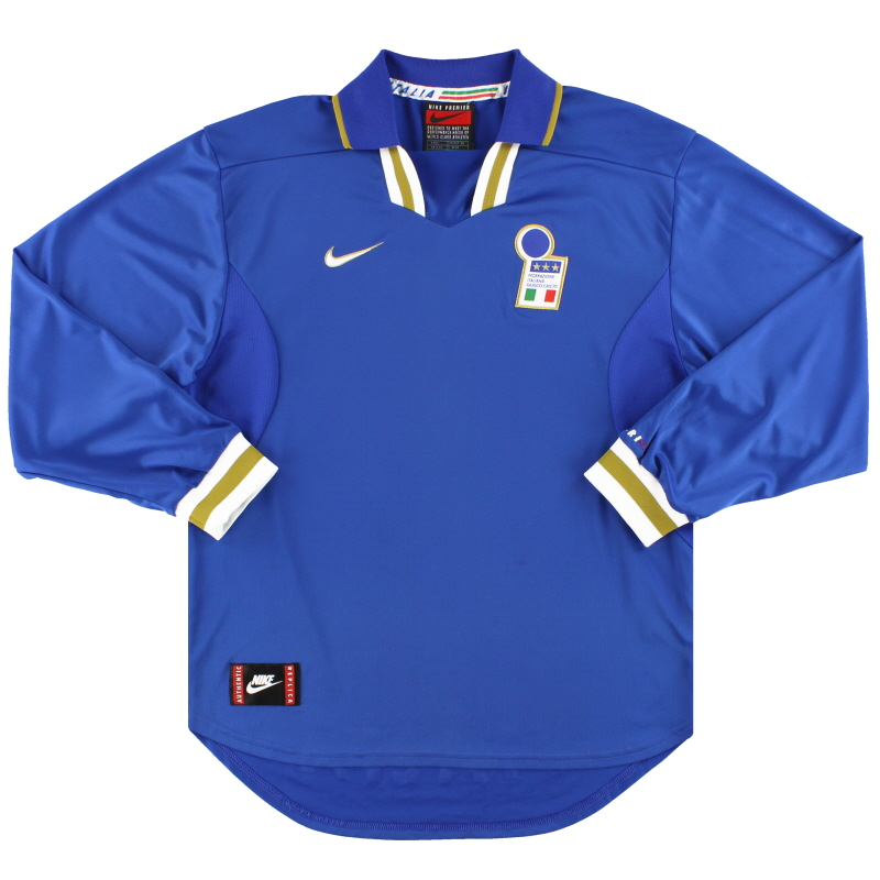 1996-97 Italy Nike Home Shirt L/S L