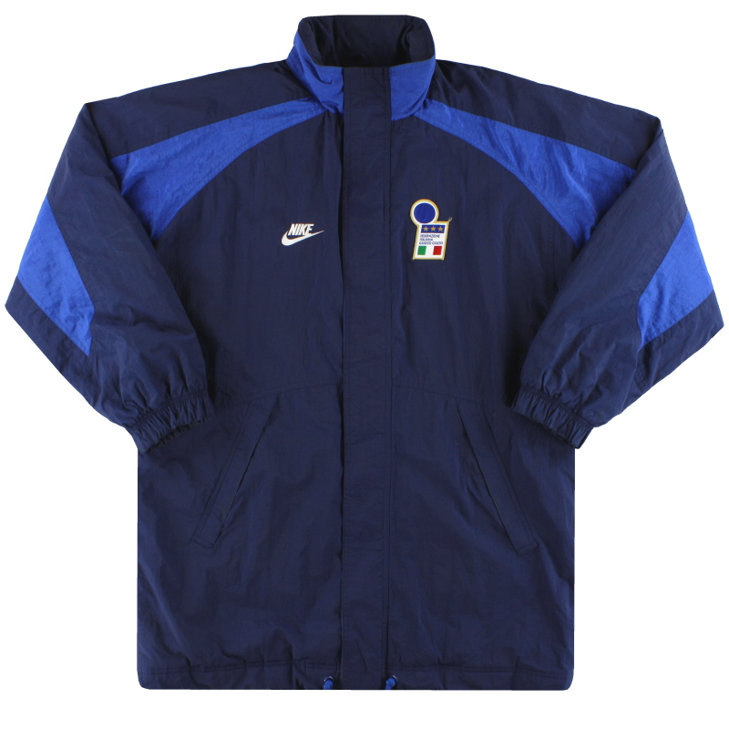 1996-97 Italy Nike Padded Bench Coat L