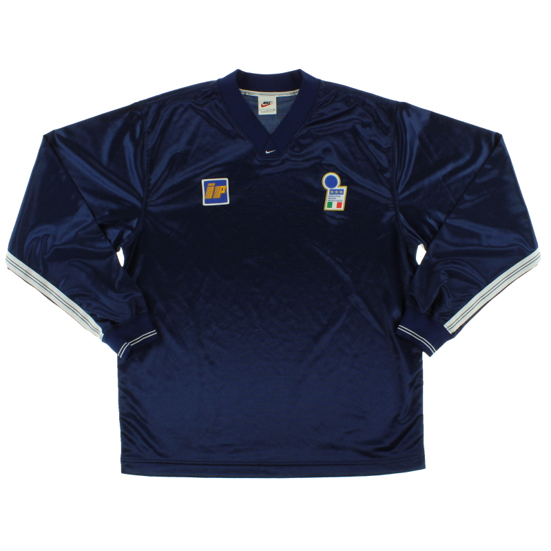 1996-97 Italy Nike Player Issue Training Shirt L/S L