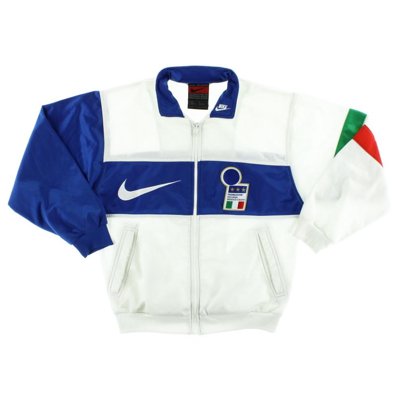 1996-97 Italy Nike Presentation Jacket L.Boys