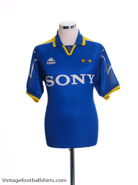 1996-97 Juventus Away Shirt S